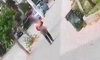 Επιδειξίας αυνανιζόταν μπροστά σε κόσμο στην Κρήτη (βίντεο)