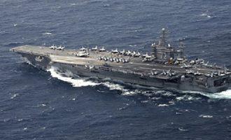 Το Ιράν απειλεί ότι θα βυθίσει το αεροπλανοφόρο USS Abraham Lincoln των ΗΠΑ