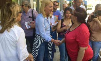 Χρυσαυγίτες φώναζαν στη Δούρου στα Καμίνια – Ο δημοκρατικός λαός θα τους νικήσει