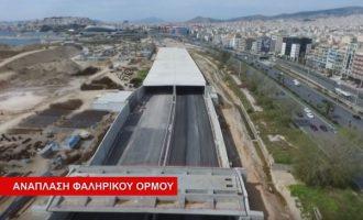 10+1 έργα στον Δήμο Μοσχάτου-Ταύρου από την Περιφέρεια Αττικής (βίντεο)