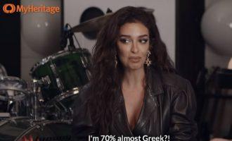 Η Ελένη Φουρέιρα έκανε τεστ DNA και βγήκε ότι 70% είναι… – Η ίδια έπαθε σοκ! (βίντεο)