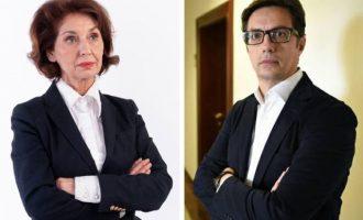 Προεδρικές εκλογές στη Βόρεια Μακεδονία: Άνετη επικράτηση Πεντάροφσκι δείχνουν τα πρώτα αποτελέσματα