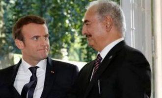 Χαφτάρ σε Μακρόν για τη Λιβύη: «Με ποιον να διαπραγματευτώ εκεχειρία;»