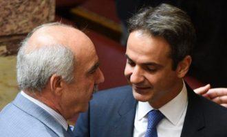 «Μπάχαλο» η ΝΔ μετά τις δηλώσεις Μεϊμαράκη που ζητά το «κεφάλι» του Μητσοτάκη