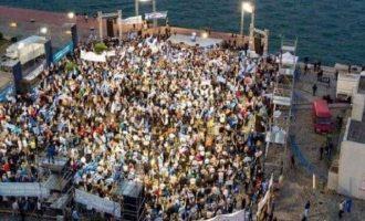 Δείτε πώς οι σοσιαλπατριώτες του Τσίπρα «γλεντάνε» το «μαντρί» του Μητσοτάκη στη Θεσσαλονίκη