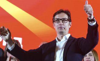 Στη Βόρεια Μακεδονία κέρδισε ο Πεντάροφσκι «χάνοντας» στους Σλαβομακεδόνες