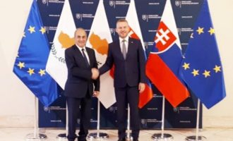 Η Σλοβακία διαβεβαίωσε την Κύπρο ότι θα στηρίξει κυρώσεις κατά της Τουρκίας