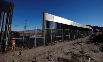 Οι ΗΠΑ δίνουν 1,5 δισεκατομμύριο για το τείχος στα σύνορα με το Μεξικό