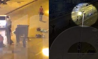 Η στιγμή του τροχαίου που έχασε τη ζωή του ο Πάνος Ζάρλας (βίντεο)