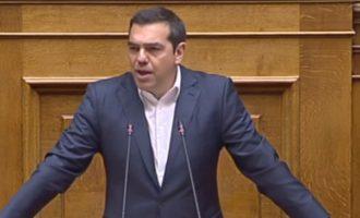 Αλέξης Τσίπρας στη ΝΔ: «Καταγγέλλετε μέτρα που τα ψηφίζετε!» (βίντεο)