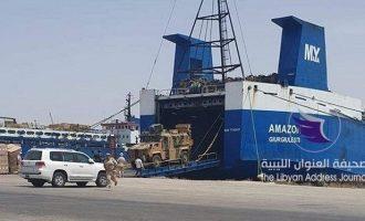 Γερμανία, Γαλλία και Ιταλία θα επιβάλουν κυρώσεις σε εταιρείες και άτομα που μεταφέρουν όπλα στη Λιβύη