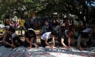 Στους δρόμους φοιτητές και καθηγητές «για την υπεράσπιση της Εκπαίδευσης» στη Βραζιλία