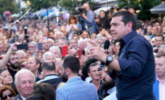 Λαοθάλασσα στα Τρίκαλα – Τσίπρας: Οι ευρωεκλογές ψήφος εμπιστοσύνης στην 13η σύνταξη (βίντεο)