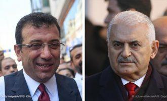Δημοτικές εκλογές Κωνσταντινούπολη: Τελευταία ευκαιρία το ντιμπέιτ για τον Γιλντιρίμ – Προβάδισμα Ιμάμογλου