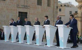 Οι ηγέτες του Νότου της ΕΕ ζητούν κυρώσεις κατά της Τουρκίας