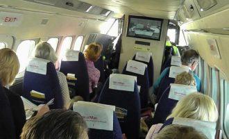 Αχόρταγη γυναίκα «καβάλησε» τον φίλο της και το «έκαναν» μέσα στο αεροπλάνο