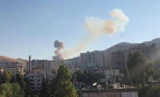Ανατινάχτηκε αποθήκη πυρομαχικών στη Δαμασκό