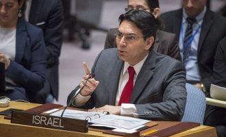 Ισραηλινός Πρέσβης ΟΗΕ: «Ποιο είναι το πρόβλημα των Παλαιστινίων με τη συνθηκολόγηση;»