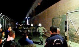 Επεισόδιο στο hotspot της Χίου μεταξύ Ιρακινών και Παλαιστινίων