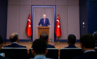 «Πόνεσε» τον Ερντογάν ο νόμος East Med Act που καθιερώνει Ελλάδα, Κύπρο και Ισραήλ