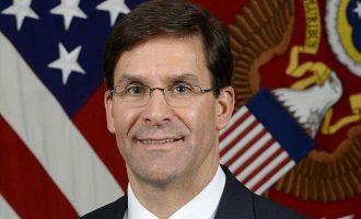Έσπερ: Οι ΗΠΑ δεν θα συμμετάσχουν στην εφαρμογή ζώνης ασφαλείας στη Συρία