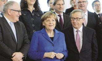 H Mέρκελ ανοίγει την πόρτα για την Προεδρία της ΕΕ στον Φρανς Τίμερμανς