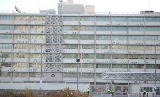 40χρονος έριξε αυτοκίνητο με γκαζάκια στην πρεσβεία των ΗΠΑ στη Σεούλ