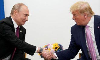 Ο Πούτιν κάλεσε τον Τραμπ στις 9 Μαΐου στη Μόσχα στους εορτασμούς της νίκης του Β΄ΠΠ