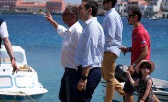 Τσίπρας από τη Χάλκη: Ας τολμήσουν οι Τούρκοι και θα λάβουν απάντηση