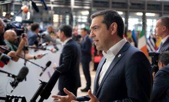 Τσίπρας: Μέτρα και κυρώσεις αν η Τουρκία δεν σταματήσει τις προκλήσεις