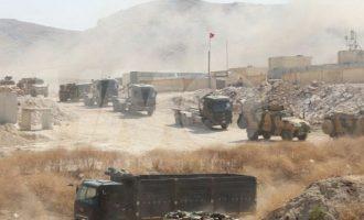 Σκοτώθηκε Τούρκος στρατιώτης από πυρά του συριακού πυροβολικού