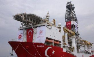 Το «Γιαβούζ» παραμένει στο Τεμάχιο 6 της κυπριακής ΑΟΖ μέχρι τις 12 Οκτωβρίου