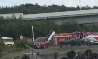 Τραγωδία στη Σουηδία: Συντριβή αεροσκάφους με εννέα νεκρούς – Βίντεο-σοκ