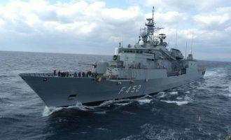 Η φρεγάτα «Ύδρα» σε αποστολή στην Αραβική Θάλασσα