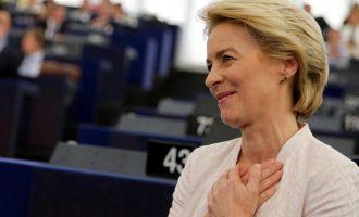 Η Ούρσουλα υποσχέθηκε μια «ενωμένη και ισχυρή» Ευρωπαϊκή Ένωση