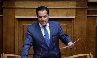 Τι απάντησε ο Άδωνις Γεωργιάδης στον Αλέξη Τσίπρα για το Ελληνικό και την Επιτροπή Ανταγωνισμού