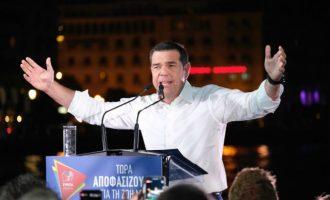 Ο άθλος του Τσίπρα: Κέρδισε 437.000 ψήφους σε ένα μήνα