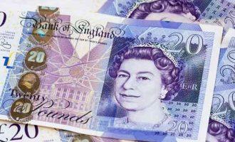 Βυθίζεται η αγγλική λίρα (στερλίνα) εξαιτίας της πολιτικής κρίσης στο Λονδίνο