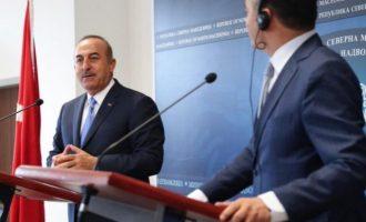Ο Τσαβούσογλου από τα Σκόπια καθύβρισε την ΕΕ και απείλησε την Κύπρο με τέταρτο σκάφος στην ΑΟΖ της