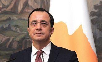 Χριστοδουλίδης: Επανέναρξη συνομιλιών για το Κυπριακό μόνο εάν η Τουρκία φύγει από την ΑΟΖ