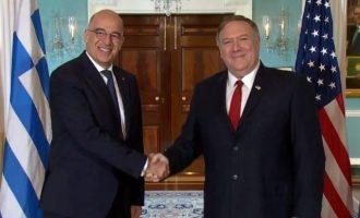 Η συνάντηση Πομπέο-Δένδια επιβεβαιώνει τη σημασία των ελληνοαμερικανικών σχέσεων