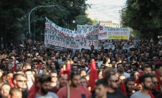 Πρώτη κινητοποίηση κατά Μητσοτάκη – Φοιτητές διαδηλώνουν για το άσυλο