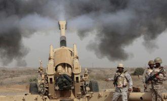 Ο αιγυπτιακός στρατός βομβάρδισε το Ισλαμικό Κράτος στη Χερσόνησο του Σινά