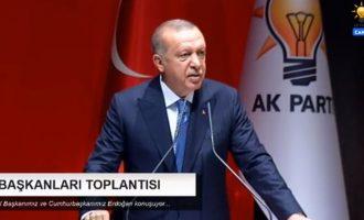 Επιθετικός ο Ερντογάν: Δεν είμαστε μια οποιαδήποτε χώρα για την Κύπρο – Είμαστε εγγυήτρια δύναμη