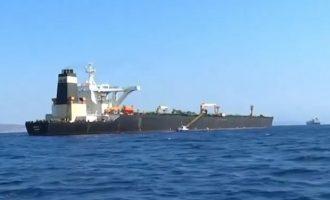 Το Γιβραλτάρ «απελευθέρωσε» το ιρανικό τάνκερ «Grace 1»