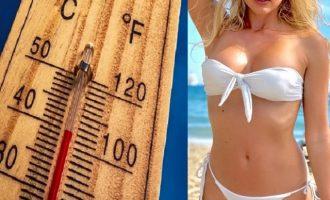 Καιρός: Καύσωνας με το θερμόμετρο στους 40 βαθμούς την Παρασκευή
