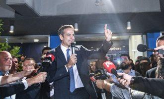 Η Ν.Δ. έχασε τις εκλογικές περιφέρειες που «κατέβαινε» υποψήφιος ο Μητσοτάκης