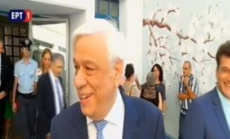 Προκόπης Παυλόπουλος: «Είναι η μέρα του πολίτη, η μέρα της λαϊκής ετυμηγορίας»