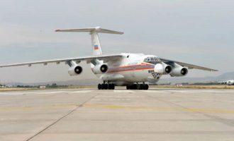 Στην Τουρκία προσγειώθηκαν τέσσερα ρωσικά μεταγωγικά με τμήματα των S-400 – Πρόκληση στο Καστελόριζο