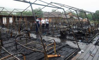 Παιδιά κάηκαν ζωντανά σε κατασκήνωση στη Ρωσία